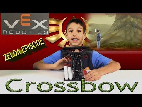 Vex Robotics Crossbow Review - Legend Of Zelda Edition!