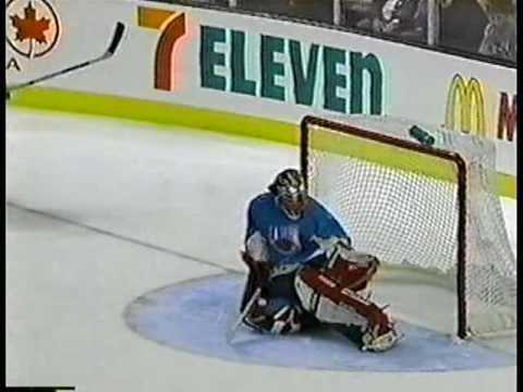 FoxTrax: 1996 NHL All-Star Game Second Period Highlights