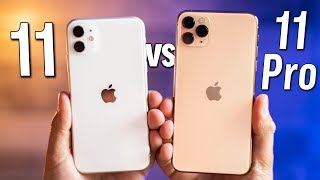 iPhone 11 vs 11 Pro - Real Differences after 1 month!