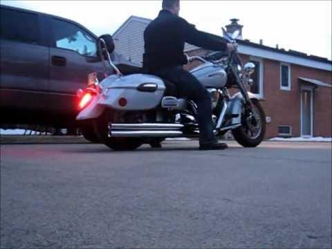 2009 Yamaha Roadstar Cobra Speedster Longs Exhaust