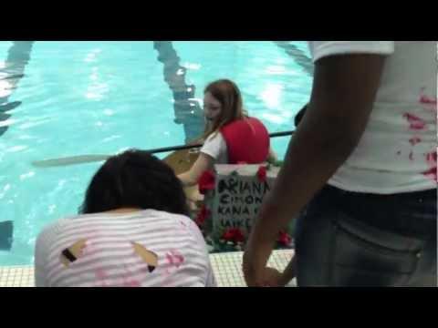 Fowler High School Boat Races 2012 - Team Death Squad