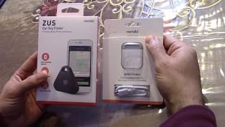 nonda ZUS Car Key Finder, Phone finder, Selfie Remote.