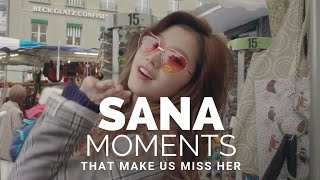TWICE SANA moments that make us ONCE miss her