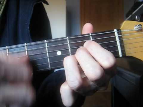 Clases de Guitarra (i-1) Rock & Roll para Muñones: Ritmo Básico