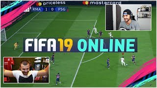 PLAYING FIFA 19 ONLINE EARLY - MY FIRST FIFA 19 ONLINE GAME - Ovvy vs Krasi !! GAME 1 !