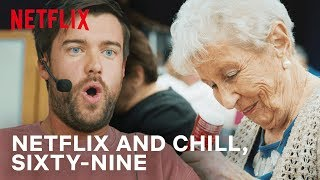 Jack Whitehall Playing Bingo With The Elderly | Travels With My Father