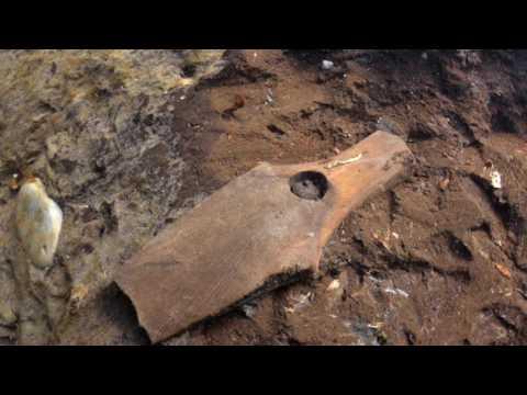 Descubrieron un antiguo poblado bajo el agua