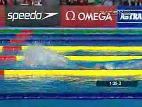 Phelps Shatters 200-meter Butterfly World Record