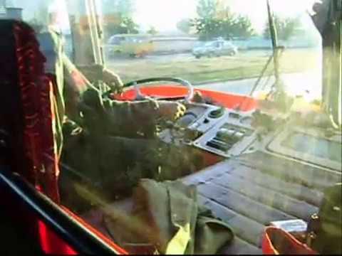 Автобусы ЛиАЗ-677 АП №1 г. Пенза. Видео 2010 года