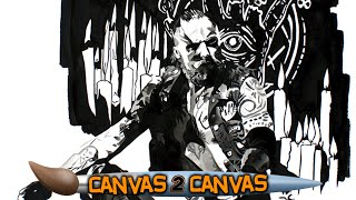 The canvas Fades to Black: WWE Canvas 2 Canvas