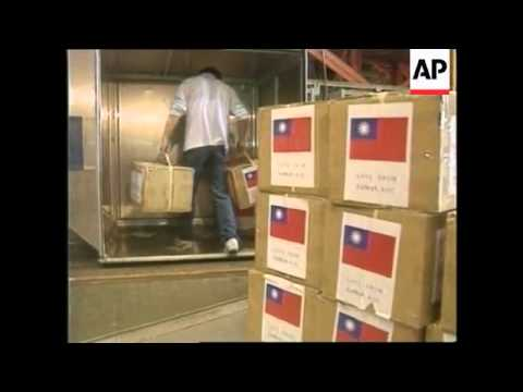 TAIWAN: RELIEF AID SENT TO KOSOVO REFUGEES