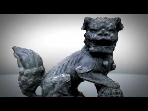 Japanese Lion Statue (Photofly) – V2