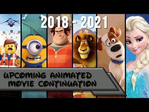 Upcoming Animated Movies 2018 - 2021