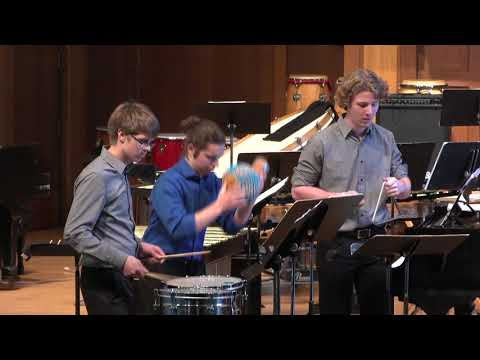 Lawrence University Percussion Ensemble (LUPÉ) - May 27, 2018