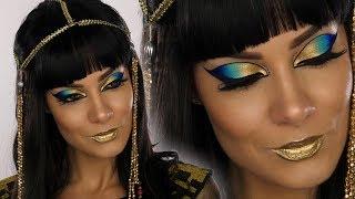 Cleopatra Egyptian Goddess Halloween MakeUp Tutorial   Shonagh Scott   ShowMe MakeUp