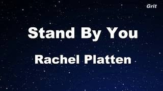 Stand By You Rachel Platten Karaoke Guide Melody
