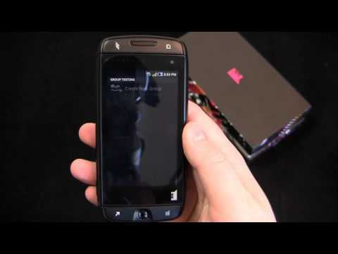 T-Mobile Sidekick 4G Unboxing