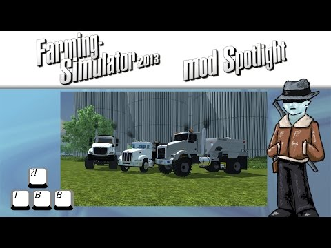 Farming Simulator 2013 Mod Spotlight - S5E38 - Semi White