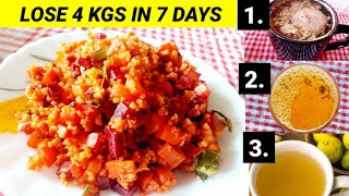 How To Lose 4 Kgs In 7 Days-100% Effective | Best Diet Plan For Boosting Immunity & lose weight Fast
