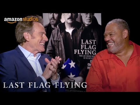 Last Flag Flying - Favorite Road Trip: Bryan Cranston And Laurence Fishburne | Amazon Studios
