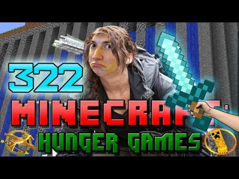 Minecraft: Hunger Games w Mitch Game 322 Diamond Sword