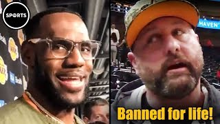 MAGA Douche BANNED From NBA For Life