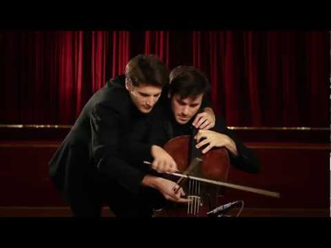2cellos On 1 Cello Every Teardrop Is A Waterfall Coldplay