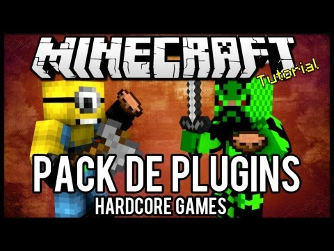 [Tutorial]Pack de Plugins #1 - HardcoreGames Minecraft