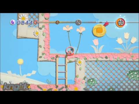 Kirby Epic Yarn on Dolphin Emulator SVN 6300