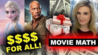 Box Office - Jumanji The Next Level, Frozen 2 Billion