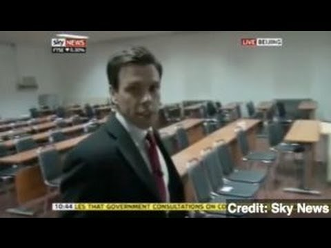 Sky News Reporter Arrested on Air in China