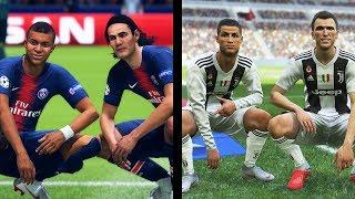 FIFA 19 vs PES 2019: Celebrations