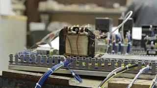 Electric Transformer Stock Video