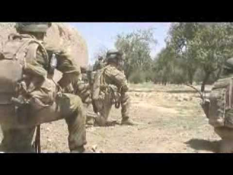 Australian Army RTF contact in Afghanistan