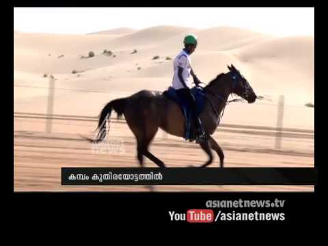 Horse Riding expert malayali boy in UAE Muhammad Abubakkar Asianet Gulf News