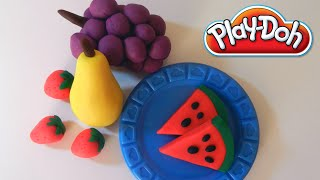 Play Doh Fruits - How to Make Fruits With Playdough