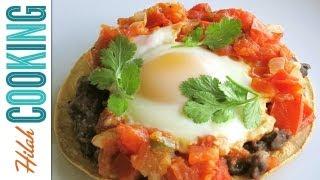 How To Make Huevos Rancheros - Breakfast Tostadas