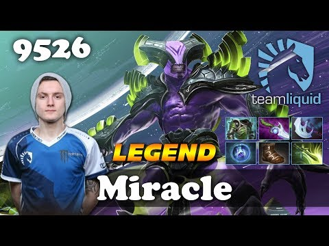 Miracle Faceless Void LEGEND | 9526 MMR Dota 2