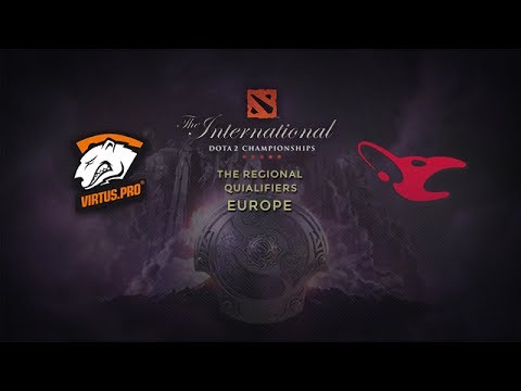 Virtus.pro -vs- Mouz, TI4 EU Qualifier, Grand Final, Game 4