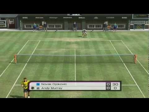 Novak Djokovic Vs Andy Murray #2 - Virtua Tennis 4