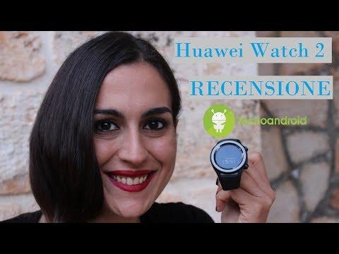 Huawei Watch 2, recensione dello smartwatch con Android Wear 2
