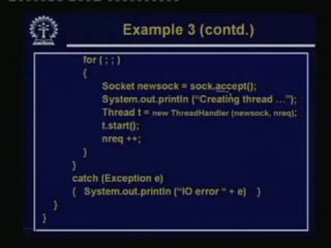 Lecture -30 Client-Server Programming In Java