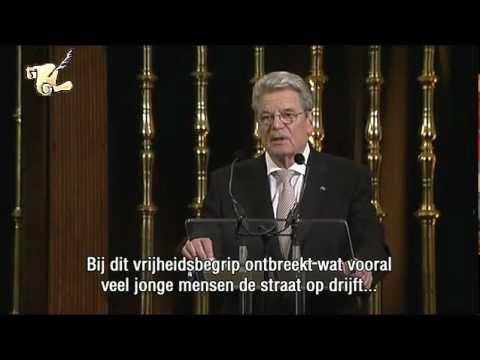 Joachim Gauck - Rede in Breda (5.5.12)
