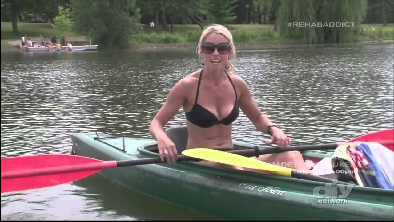 Nicole curtis of rehab addict shows off her lovely body youtube