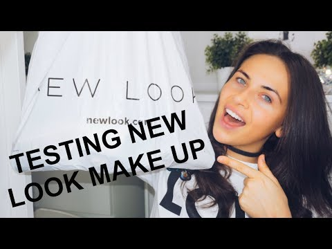 TESTING NEW LOOK MAKE UP