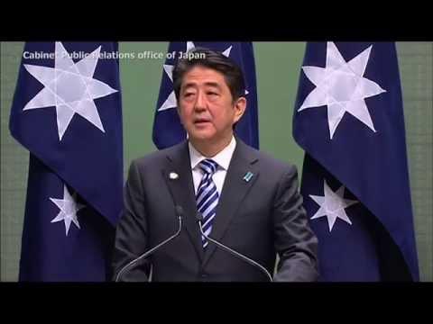 Prime Minister Abe's visit  to Australia: Remarks to the  Australian Parliament