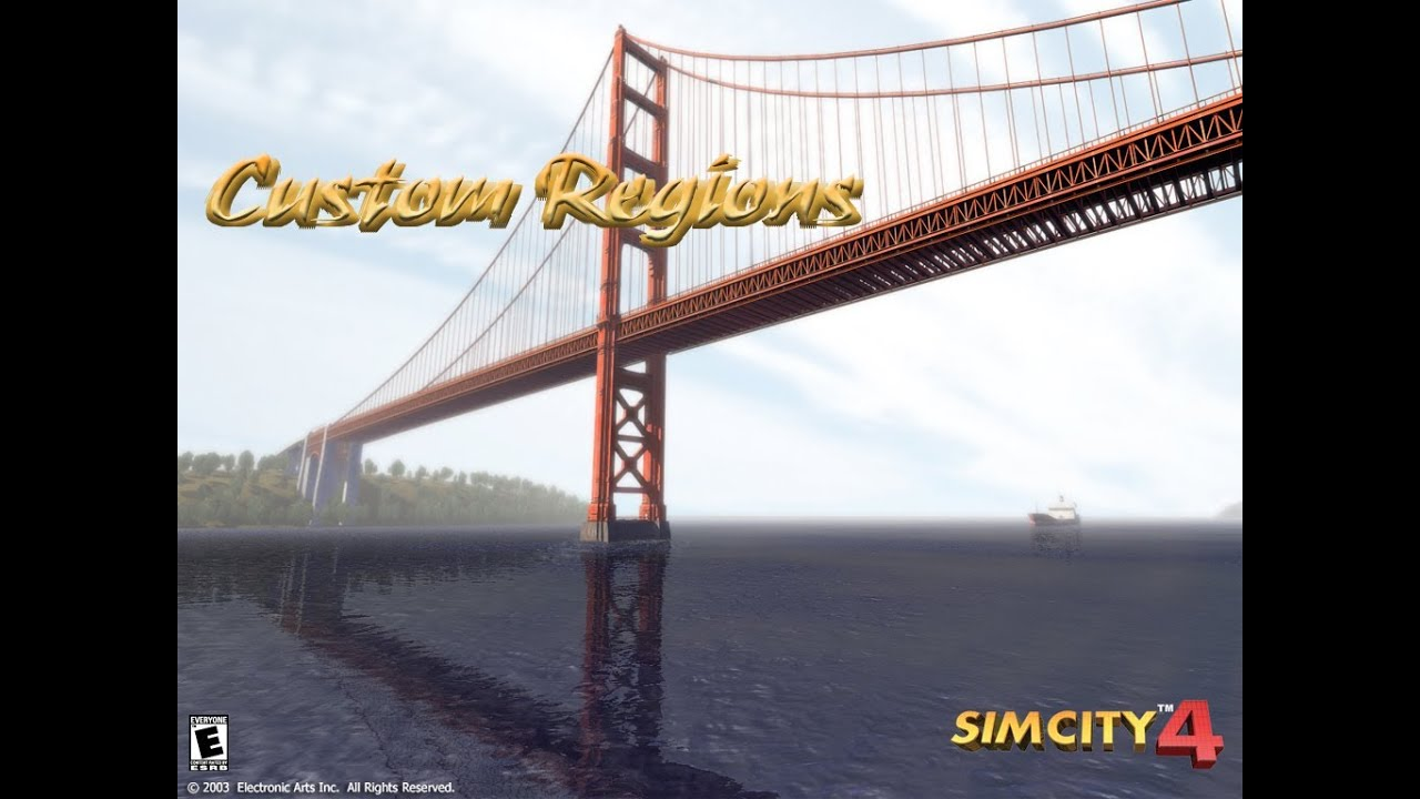 Simcity 4 installing custom regions tutorial youtube