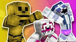 Minecraft Fnaf: Sister Location - Attack Of The Giant Giga Golden Freddy (Minecraft Roleplay)