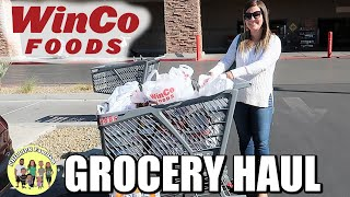 WINCO FOODS GROCERY HAUL | SHOPPING FOR KIDS SCHOOL LUNCHES AND SNACKS | PHILLIPS FamBam Hauls