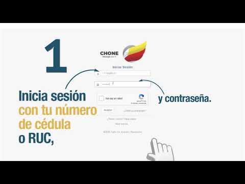 Portal en línea - Certificado de NO adeudar